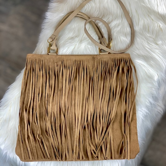 279c4ab59b Anthropologie Handbags - 🔻 25 SALE🔻 Anthropologie Boho Suede Fringe Bag